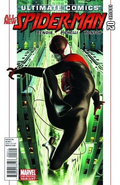 Ultimate Comics Spider-Man #2 (2nd Printing)