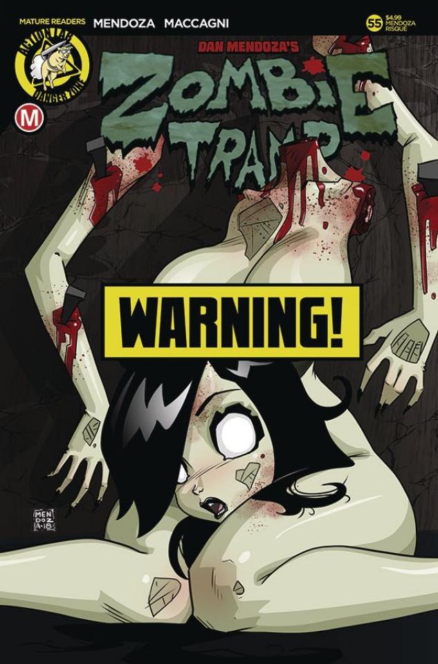 Zombie Tramp #55 (Mendoza Risque Cover)