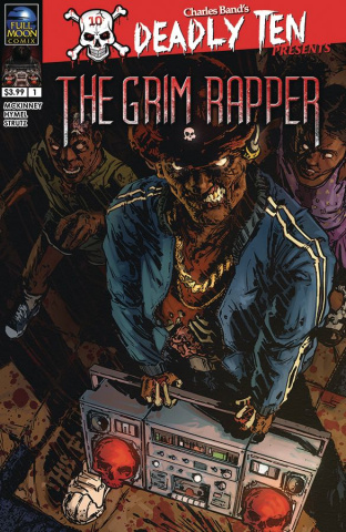 Deadly Ten Presents: The Grim Rapper (Strutz Cover)
