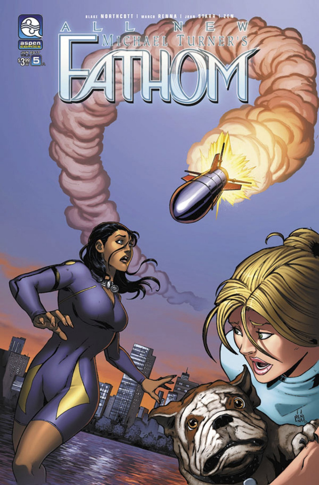 All New Fathom #5 (Renna Cover)