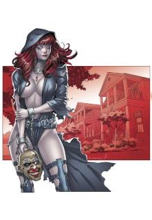 Grimm Tales of Terror #4 (Ortiz Cover)