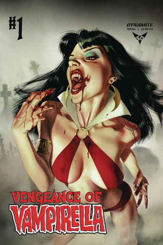 Vengeance of Vampirella #1 (Middleton Cover)