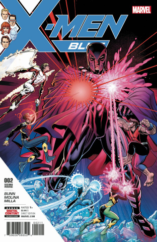 X-Men: Blue #2 (2nd Printing Art Adams Cover)