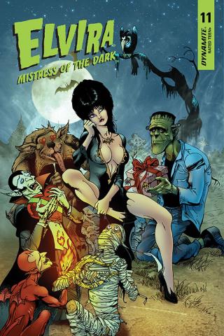 Elvira: Mistress of the Dark #11 (Castro Bonus Cover)