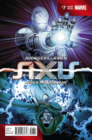 Avengers and X-Men: AXIS #7 (Land Inversion Cover)