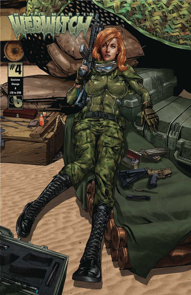 Webwitch #4 (Costume Change Cover)