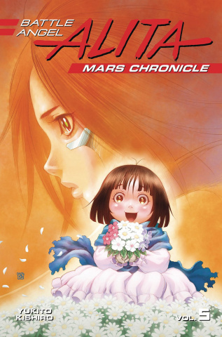 Battle Angel Alita: Mars Chronicle Vol. 5