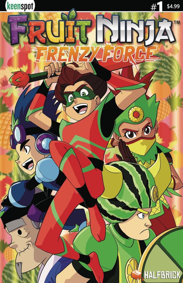 Fruit Ninja: Frenzy Force #1 (Mokhtar Cover)