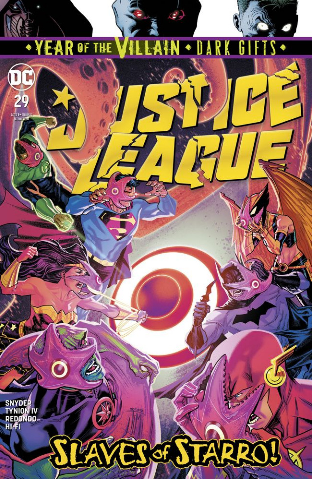 Justice League #29 (Dark Gifts Cover)