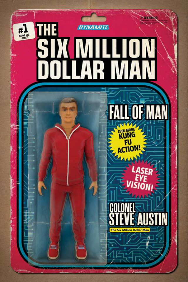 The Six Million Dollar Man: Fall of Man #1 (Action Figure Cover)