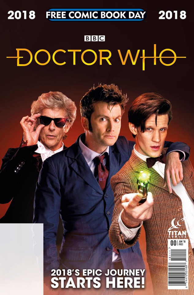 Doctor Who #0 (FCBD 2018 Special)