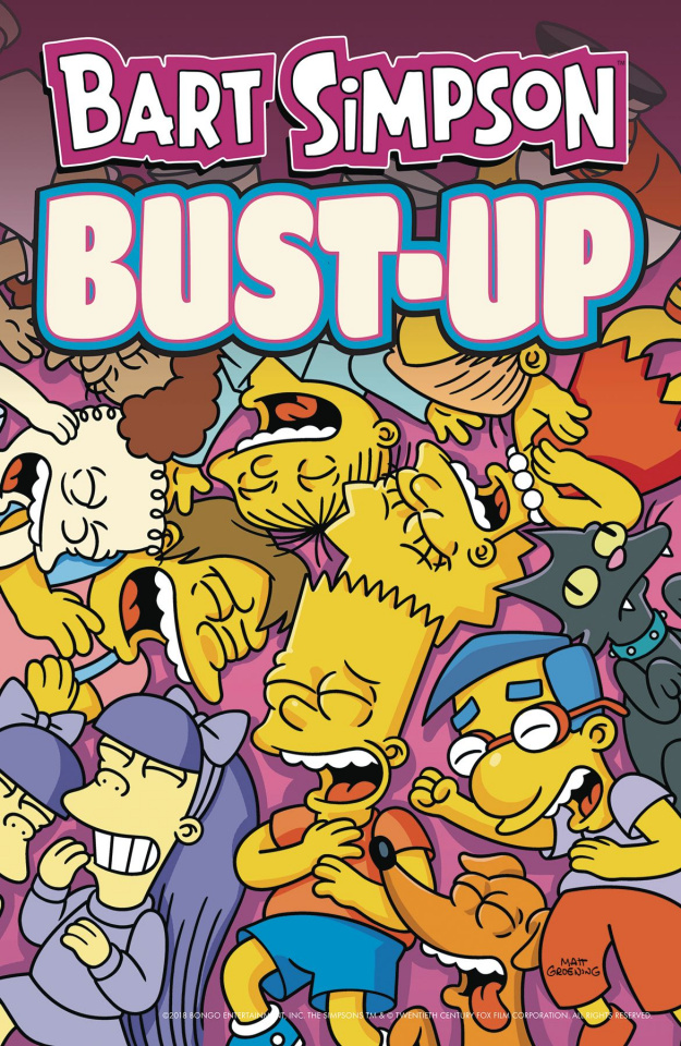 Bart Simpson: Bust-Up