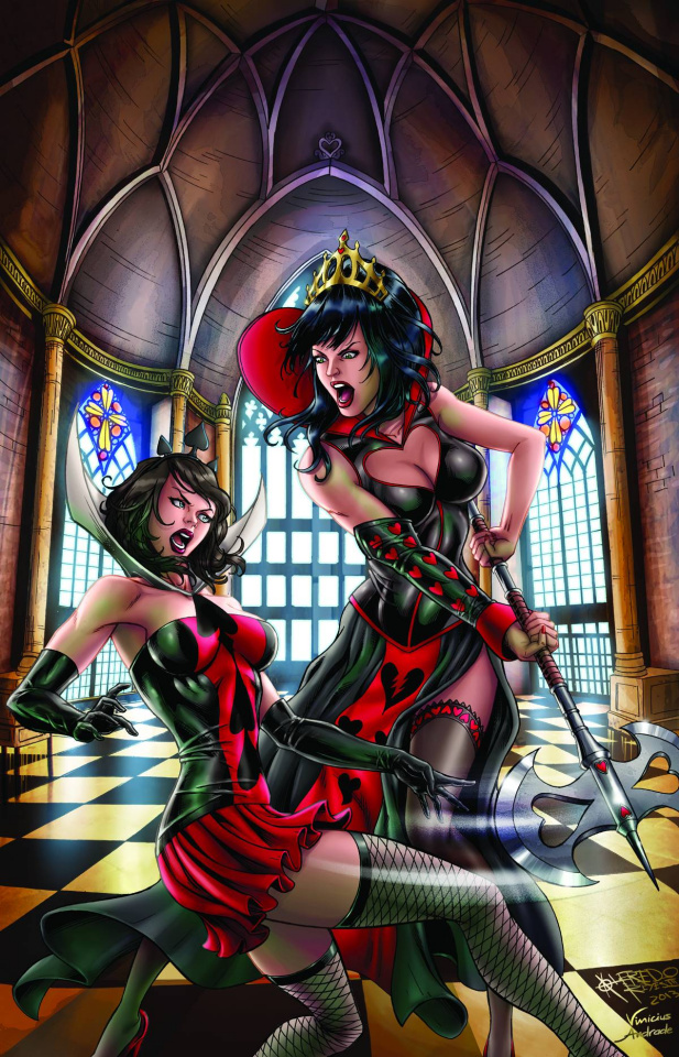 Grimm Fairy Tales: Wonderland - Clash of Queens #1 (Reyes Cover)