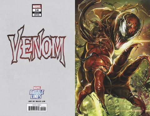 Venom #14 (Maxx Lim Marvel Battle Lines Cover)