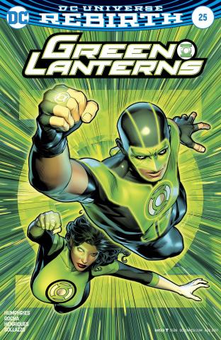 Green Lanterns #25 (Variant Cover)
