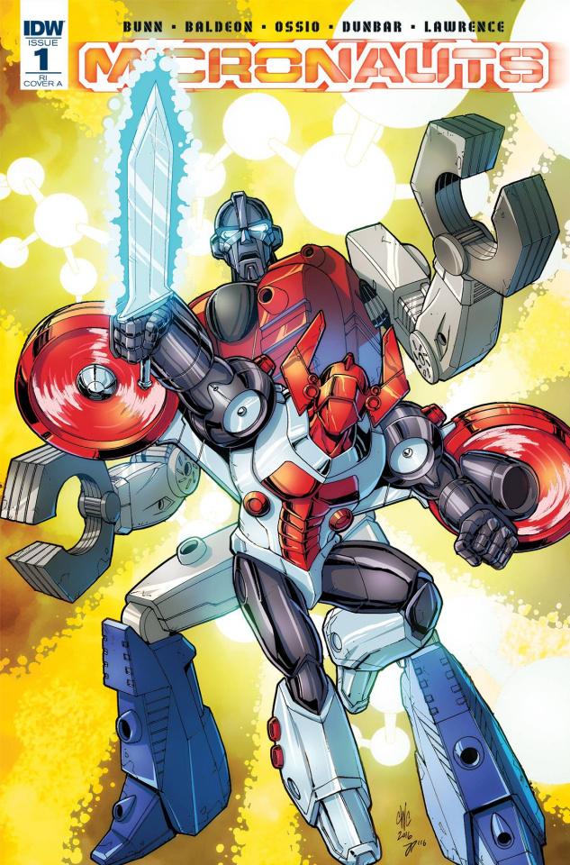 Micronauts #1 (25 Copy Cover)