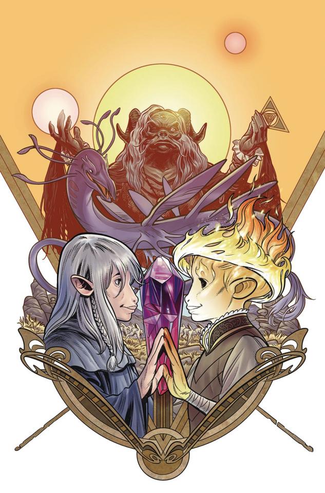 Beneath the Dark Crystal #7 (Dewey Cover)