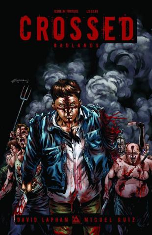 Crossed: Badlands #34 (Torture Cover)