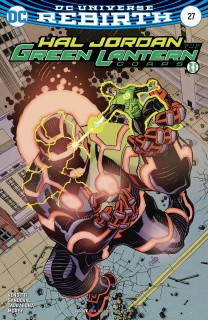 Hal Jordan and The Green Lantern Corps #27 (Variant Cover)