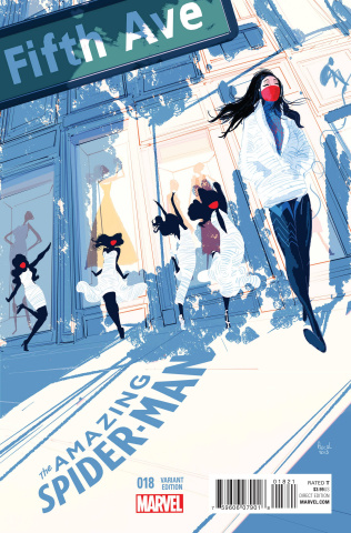 The Amazing Spider-Man #18 (Campion NYC Cover)