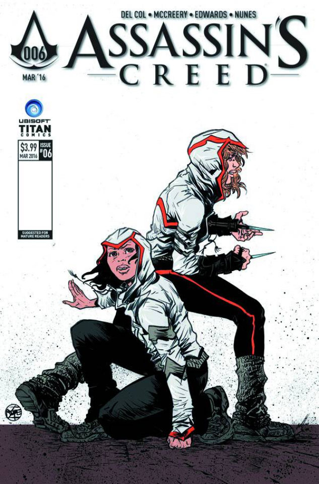 Assassin's Creed #6 (Pope Cover)