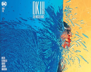 Dark Knight III: The Master Race #5 (Miller Cover)