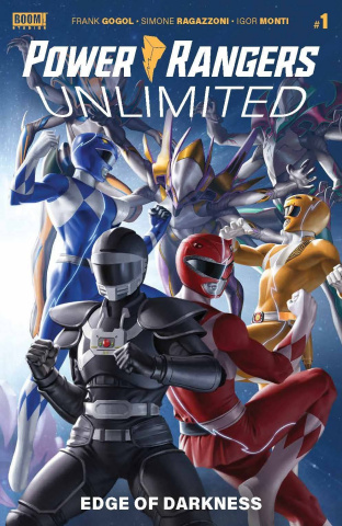 Power Rangers Unlimited: Edge of Darkness #1 (Yoon Cover)