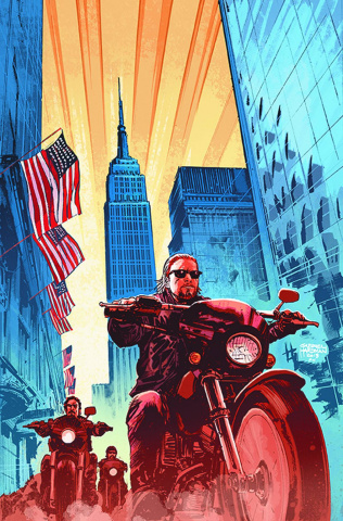 Sons of Anarchy #1 (NYCC Cover)