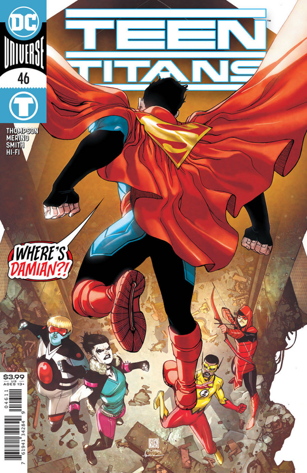 Teen Titans #46 (Bernard Chang Cover)