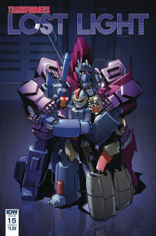 The Transformers: Lost Light #15 (Lawrence Cover)