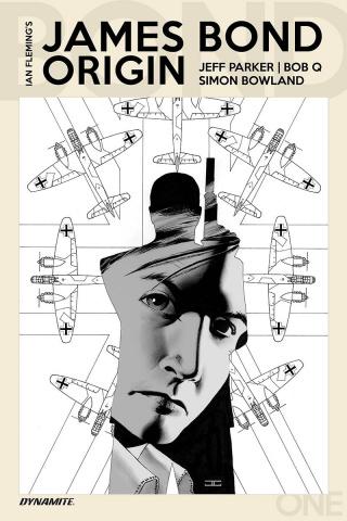 James Bond: Origin #1 (10 Copy Cassaday B&W Cover)
