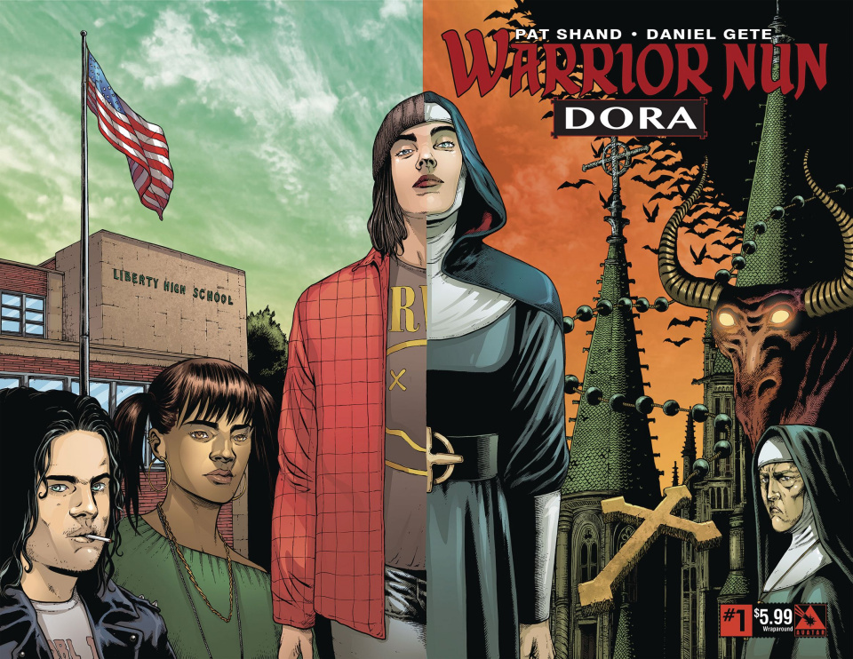 Warrior Nun: Dora #1 (Wrap Cover)