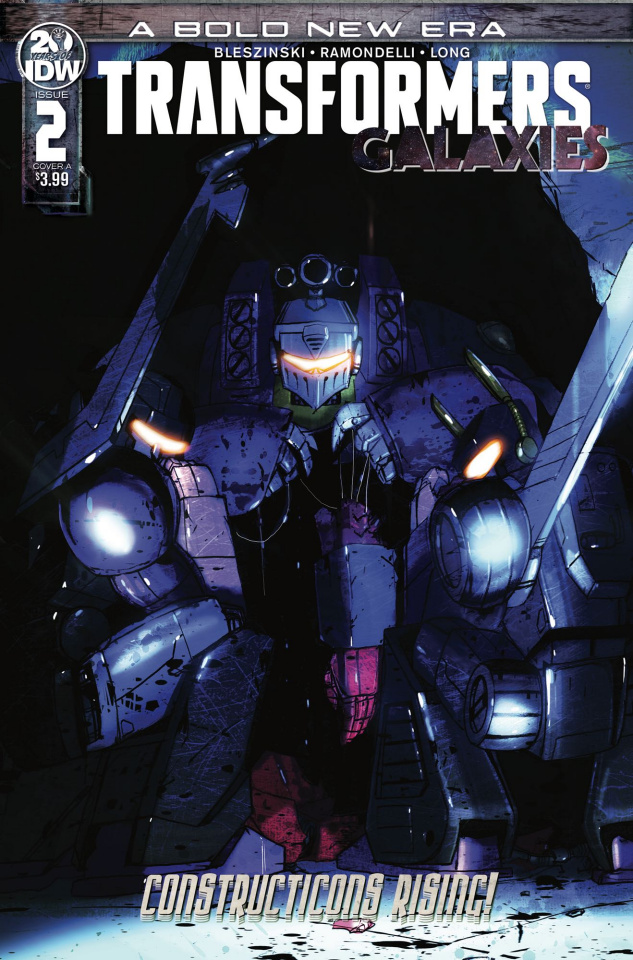 The Transformers: Galaxies #2 (Ramondelli Cover)