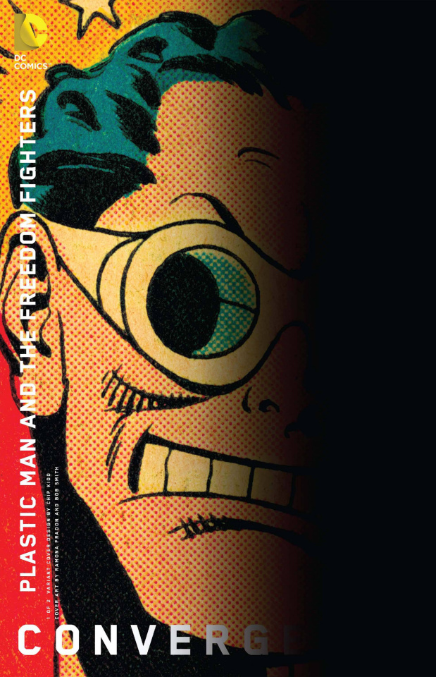 Convergence: Plastic Man and the Freedom Fighters #1 (Chip Kidd Cover)