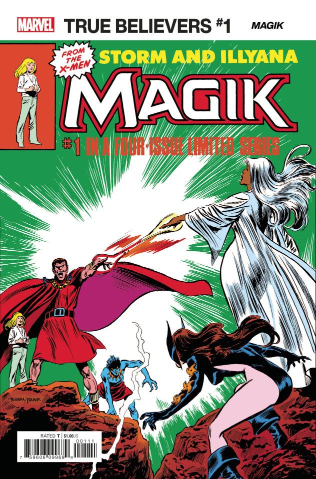 X-Men: Magik #1 (True Believers)