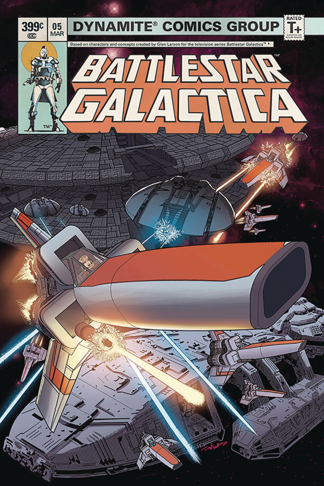 Battlestar Galactica Classic #5 (HDR Cover)