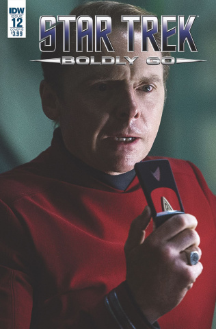 Star Trek: Boldly Go #12 (10 Copy Cover)