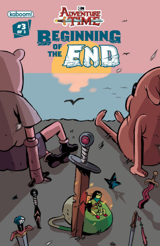 Adventure Time: Beginning of the End #3 (Subscription Daguna Cover)
