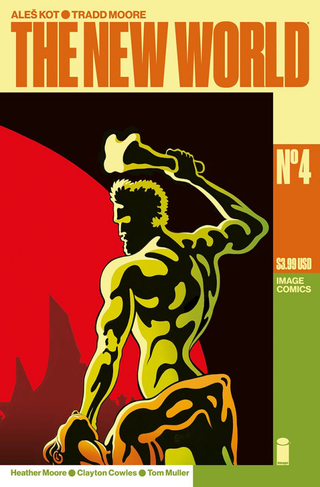 The New World #4 (Moore & Muller Cover)