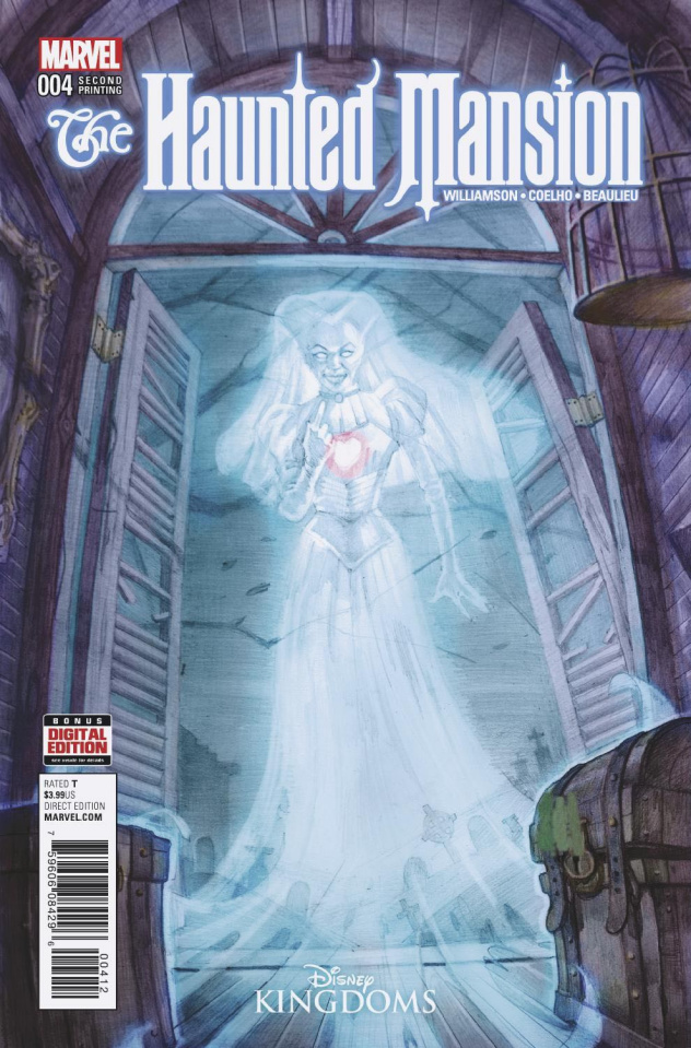 The Haunted Mansion #4 (Gist 2nd Printing)