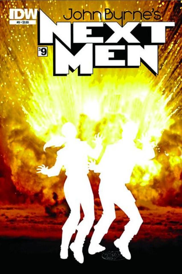 John Byrne's Next Men #9