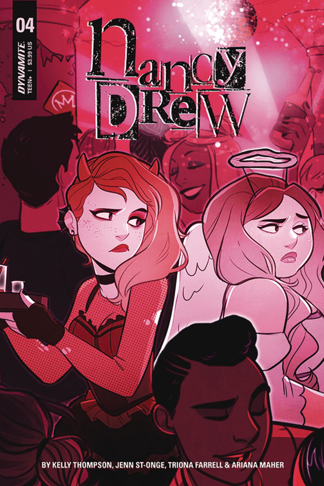 Nancy Drew #4 (St. Onge Cover)