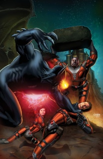 E.V.I.L. Heroes #3 (Chen Cover)