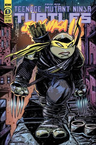 Teenage Mutant Ninja Turtles: Jennika II #1 (Eastman Cover)