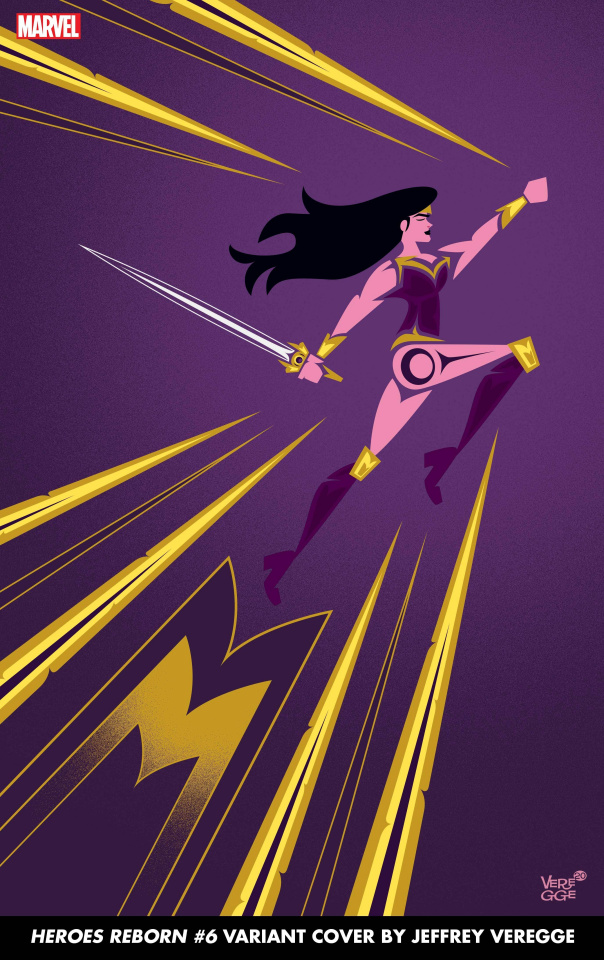 Heroes Reborn #6 (Veregge Cover)
