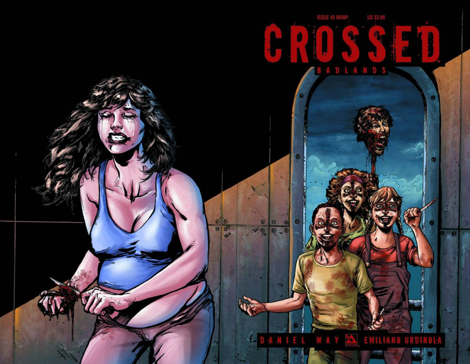 Crossed: Badlands #45 (Wrap Cover)