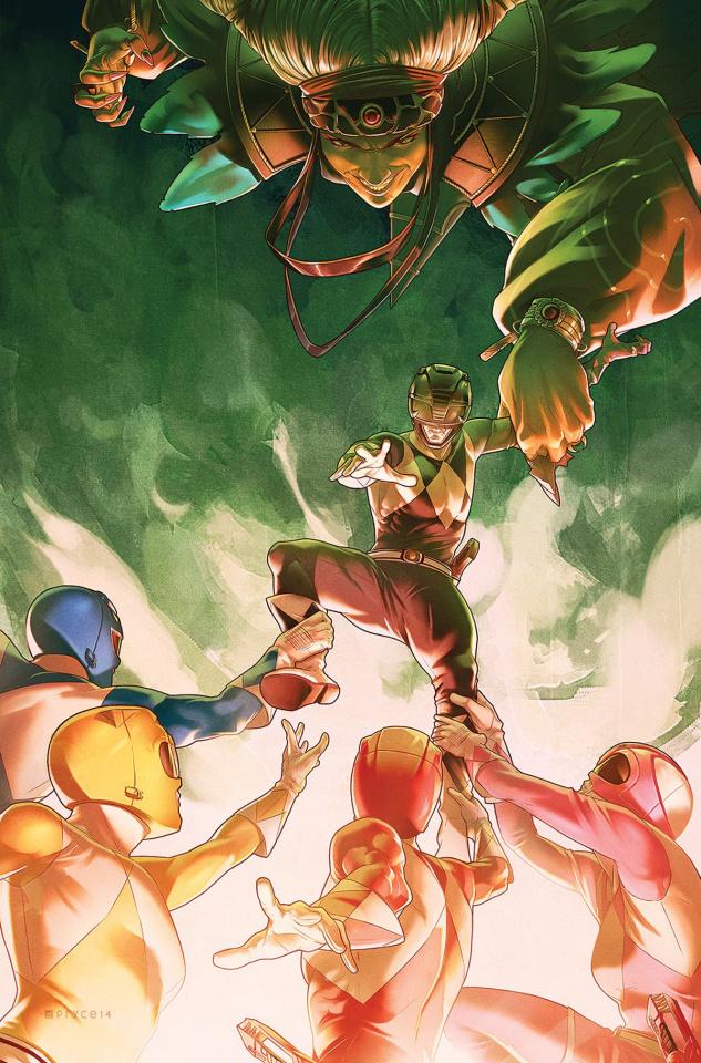 Mighty Morphin' Power Rangers #5