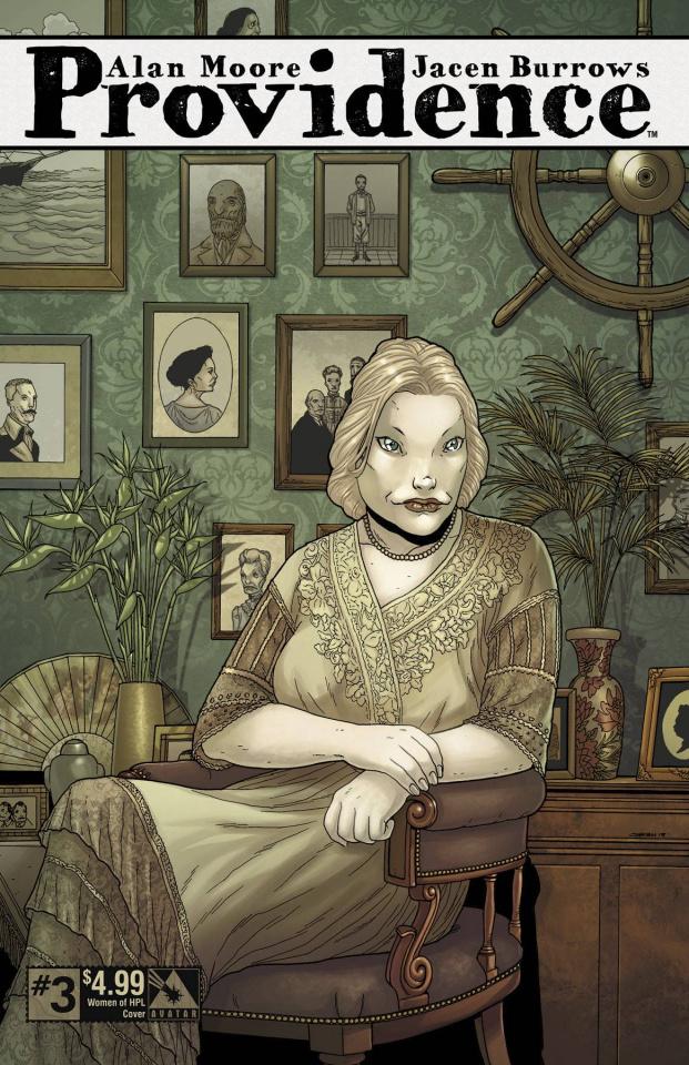 Providence #3 (Women of HPL Cover)