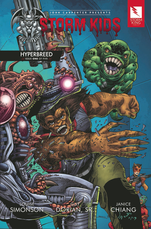 Storm Kids: Hyperbreed #1