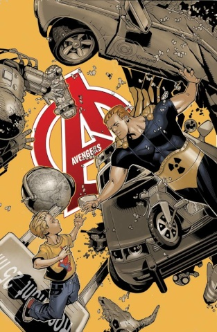 Avengers #34.1 (Bachalo Cover)